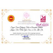 Rosa Damascena Isparta Rose Oil 1 Gram (%100 Pure and Natural)