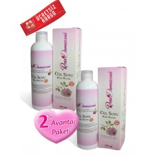 Rosa Damascena  Rose Water 250 ml 2 pieces(%100 Pure and Natural)
