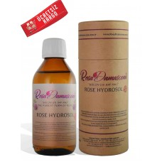 Rosa Damascena Rose Hydrosol 150 ml (%100 Pure and Natural)